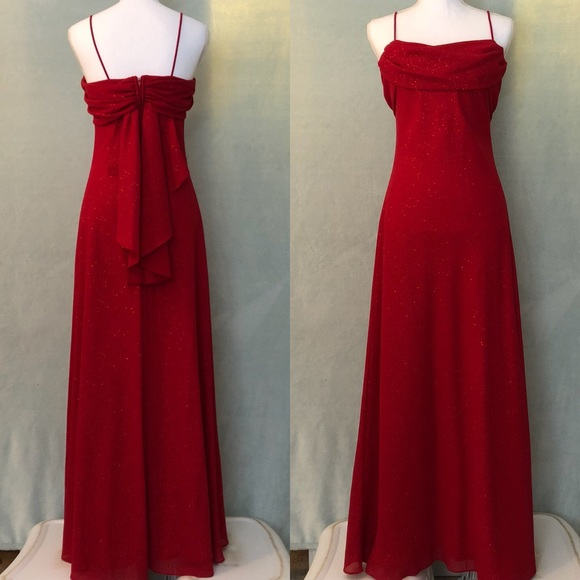 Betsy   Adam Dresses   Skirts - Betsy   Adam sparkly red evening gown 1fead2bb7a75